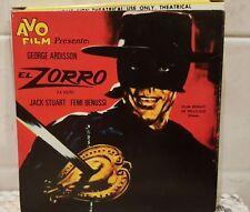 Lot di 6 pellicole Super 8 - Zorro - Cartoon - Titti - Silvestro - Western