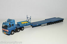 LION CAR BASED MERCEDES TRUCK WITH HEAVY LOWBED TRAILER SA TRANS SARENS RARE