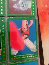 42 DRAGON BALL Z PANINI SERIE 5 VERDE GREEN SERIES COLLECTION CARD