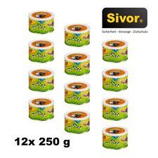 12 Stk Dosen Pumpernickel 250 g Dosenbrot Notvorrat Brot MRE bei Sivor