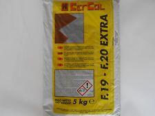 Colla,adesivo,per piastrelle in gres,klinker,cotto F.19 Grigio sacco kg.5 Cercol