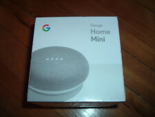 GOOGLE HOME MINI SMART ASSISTANT~ BRAND NEW~ CHALK~ FACTORY SEALED~