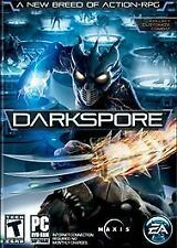 Darkspore 2011 PC DVD-Rom Software Limited Edition New Exclusive Armor Pack