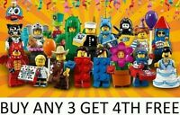 LEGO MINIFIGURES SERIES 18 PARTY 71021 PICK CHOOSE YOUR OWN + BUY 3 GET 1 FREE