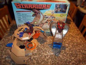 Vintage 1984 Tomy Starriors Armor Cobra Battle Station Fortress Play Set w/box