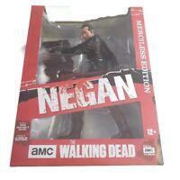 "McFarlane AMC The Walking Dead Negan Merciless Edition 10"" Deluxe Figure New"