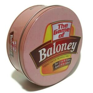 The Game of Baloney Fibbing Fun For The Whole Family TDC Games NEW Open package