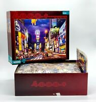 Buffalo Games Times Square 4000 PC Jigsaw Puzzle Discontinued 02142 Complete
