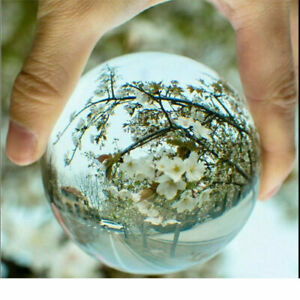 40mm K9 Transparent Photographie Cristal Balle Sphère Décoration Lentille Photo