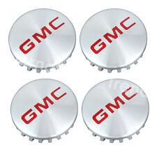 NEW Set of 4 GMC Logo Wheel Hub Center Caps for 2014-18 GMC YUKON SIERRA
