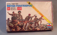 ESCI ERTL # 208 1/72 scale World War Two British Paratroopers 50 Miniatures WWII
