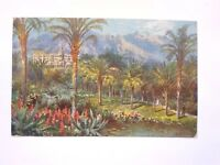 FRANCE MONTE CARLO THE GARDENSTUCK OILLETTE WIMBUSH POSTCARD POSTED