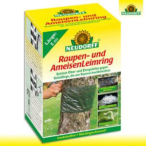 Neudorff 5 m Raupen- und AmeisenLeimring Obstbaum Schutz Maden Falle Bekämpfung