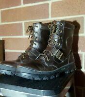 Polo Ralph Lauren 11.5 Men's Winter Boots Hayward Brown Leather