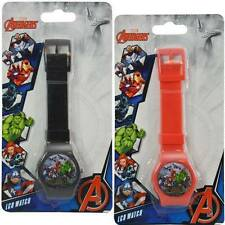 Marvel Avengers 2 pc Digital LCD Wrist Watch For Boys Kids Birthday