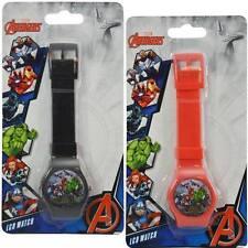 Marvel Avengers 2 pc Digital LCD Wrist Watch For Boys Kids Birthday