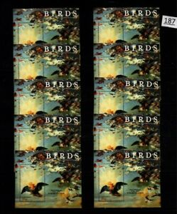 /// 10X GAMBIA - MNH - BIRDS - PAINTING - WHOLESALE