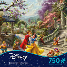 Thomas Kinkade Snow White Dancing In The Sunlight 750 Ceaco Puzzle