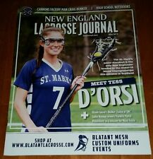 New England LaCrosse Journal Tess D'Orsi St. Mark's Cover May 2015 NEW