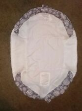 Baby Delight Snuggle Nest Surround Grey Pinwheels - REPLACEMENT COVER ONLY - EUC
