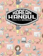 Korean Hangul Practice Notebook: Hangul Workbook, Korean Language Learning ...