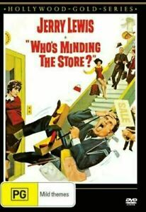 WHO'S MINDING THE STORE? DVD - Jerry Lewis, Jill St. John, Brand new sealed R4