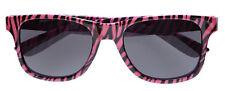 Nerdy Pink Zebra Brille NEU - Zubehör Accessoire Karneval Fasching