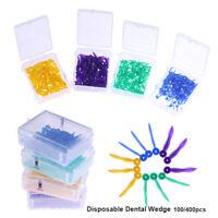 Higiene oral Dentista herramienta Cuñas de dental Cuidado de los dientes