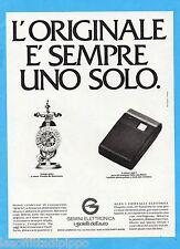 QUATTROR983-PUBBLICITA'/ADVERTISING-1983- GEMINI ELETTRONICA  (versione D)
