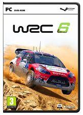 WRC 6 (Pc-Dvd) Nuevo Sellado Rally Championship