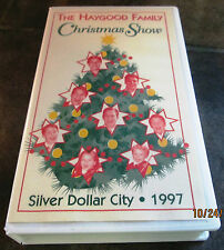 The Haygood Family Christmas Show Movie (VHS 1997) w/Hard Case
