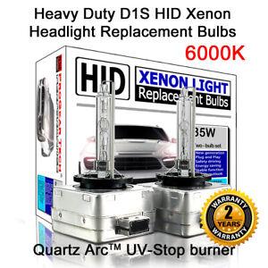 Heavy Duty D1S 6000K OEM HID Xenon Headlight Replacement Bulb X 2