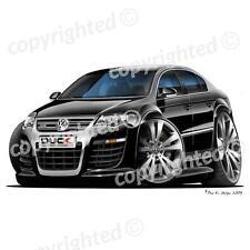 VW Passat R36 - Vinyl Wall Art Sticker - Black