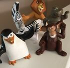 LOT OF FIVE ANIMALS FROM DISNEY'S MADAGASCAR MADE FOR MCDONALD'S 2008