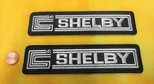 SET OF 2 - SHELBY DEALER PATCHES ORIGINAL - FORD MUSTANG COBRA - PATCH - CARROLL