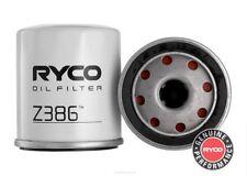 Ryco Oil Filter  FOR Toyota Cressida 1982-1992 2.0 (MX63) Sedan Petrol Z386
