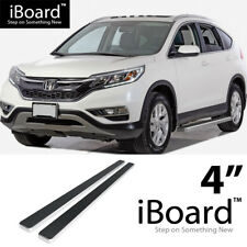 Running Board Side Step Nerf Bars 4in Silver Fit Honda CR-V 07-16