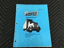Bally Truck Stop Pinball Machine Manual Schematics Free Ship