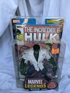 Hulk Marvel Legends Series 2 Toy Biz 2002 Brand New In Package