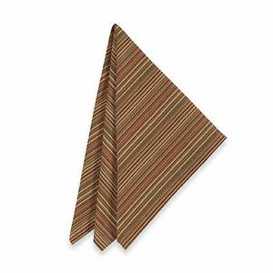Brownstone Gallery Tuscan Stripe Napkins (Set of 4)