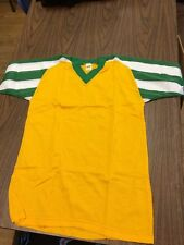 Vintage Russell Athletic 70's Nylon Jersey Size Medium Usa Made