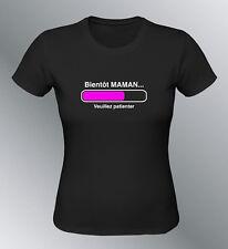 Tee shirt Future MAMAN femme enceinte geek bébé grossesse bientot naissance