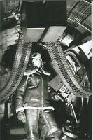 Usa WW II   Photo --    Gunner On B-17 Bomber