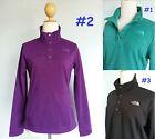 *RARE NEW The North Face 1/4 Button Soft Fleece Jacket Sweatshirt Women S M L XL