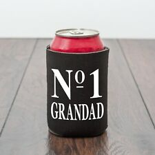 No 1 Grandad beer can cooler/Grandpa/birthday/beer lover/Drinks/Novelty gift