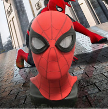 Spider-Man Far From Home Breathable PVC Mask With 3D Eyes Adult Cosplay Prop