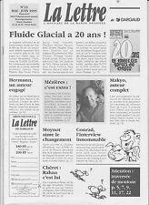 LA LETTRE Dargaud n°23. Mézières. mai 1995.  Etat neuf