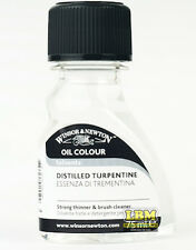 Winsor & Newton Oil Colour Distilled Turpentine 75ml (3021744)