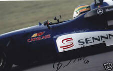 Hand Signed Bruno Senna Picture 9x6.