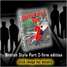 HOOLIGANS  BRITISH STYLE PART 2-firm edition-  9 dvds -